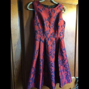 NWT Jacquard Party Dress Coeur de Vague